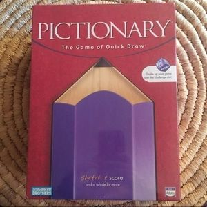 1997 Vintage Factory Sealed Pictionary Game